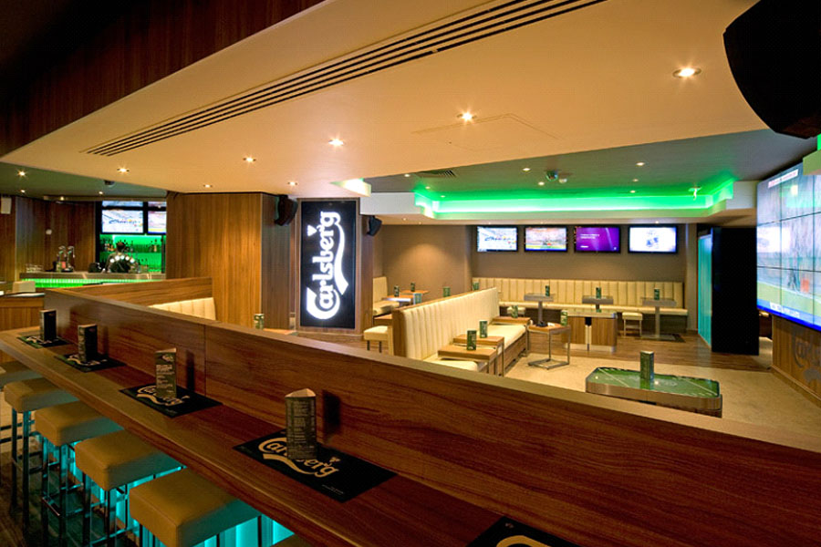 Carlsberg Sports Bar Wh Flooring